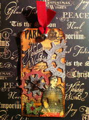 Graphic 45 paper meets Tim Holtz