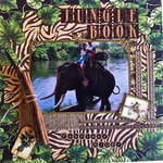 Jungle Book ~ Graphic 45 Tropical Travelogue Collection ~