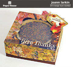 Thanksgiving Pie Box