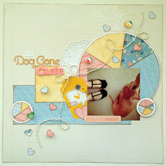 Dog Gone Cute Layout
