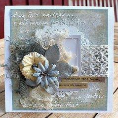 Card **Petaloo & Heidi Swapp**