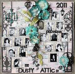 The Dusty Attic Designteam 2011 -