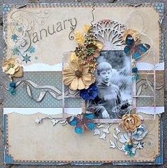 January **Scraps of Elegance**