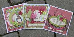 Three small cards **Petaloo & Jillibean Soup**