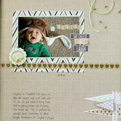 2 Month Scrapbook Page!