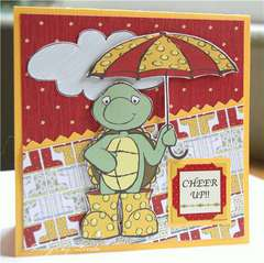 Cheer up Card by DT Diva Rae Barthel
