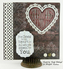 RED DOOR TO MY HEART CARD
