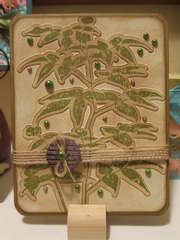 Artistic Fern Card