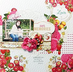 My Creative Scrapbook  LM Kit~our MEMORIES