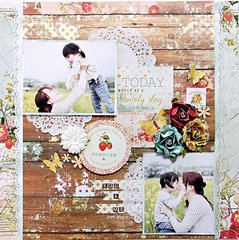 My Creative Scrapbook  LM Kit ~you &me~