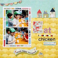 *Eat chicken* BasicGrey PB&J collection