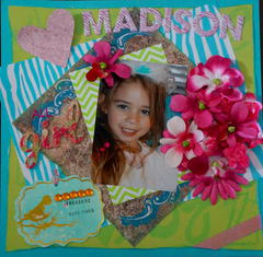 Madison Playing Dress-Up