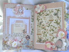 Shabby Chic Spring Album Pages