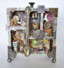 Tim Holtz Configurations Altered Art Decor Box
