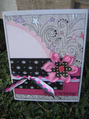 Girlie Birthday Card