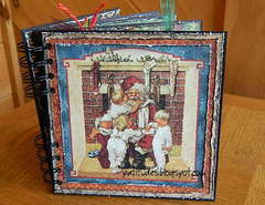 Graphic 45 Christmas Emporium Chipboard Album