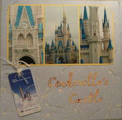 Cinderella's Castle Left