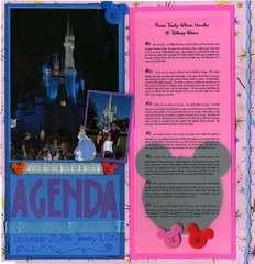 Agenda (disney style)