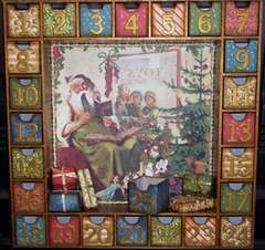 Advent Calendar with Reversible Boxes - Side 1