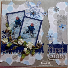 First Snow ~~~ScrapThat! January Kit~~~