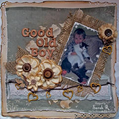 Good Old Boy ~~ScrapThat! April Kit Reveal and Blog Hop~~