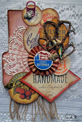 Recipe Card Tag ~Scraps of Darkness & Scrap for Help~