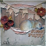 Sweet Puppy ~~ScrapThat! April Kit Reveal and Blog Hop~~