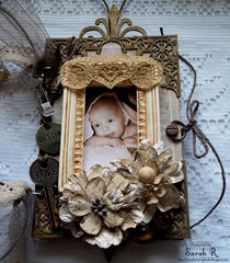 Vintage Mini Album ~Scraps of Darkness and Imaginarium Designs~