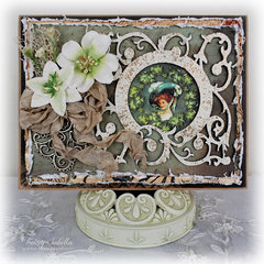 Irish Blessings Card by DT Tracey Sabella