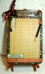 Back To School Clipboard