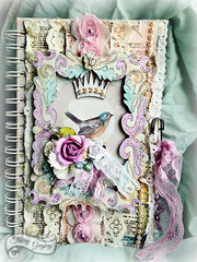 Altered Faith Journal/Leaky Shed Studio DT