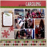 Girl Scouts Caroling