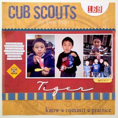 Tiger - Cub Scouts