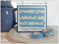 Quick & Easy Washi Tape Card