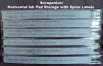 Storing Ink Pads Horizontally with Scraponizer