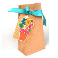 Gift Basket - Brown Bag - by sei