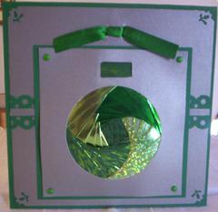 Iris folder card