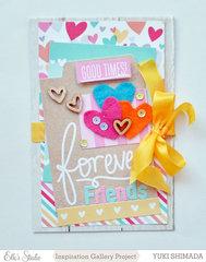 Forever Friends card *Elle's Studio*