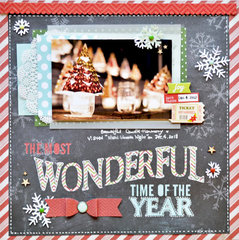 Layout with Simple Stories December Documented
