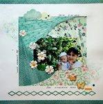 Jasmin and iris folding