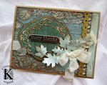 Autumn Card w/ Authentique **Sizzix DT**