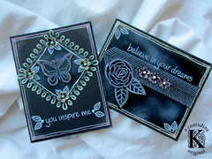 Chalkboard Effect Cards **Core'dinations DT**