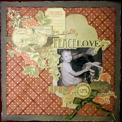 **Scrapbook Adhesives by 3L** Peace Love Joy