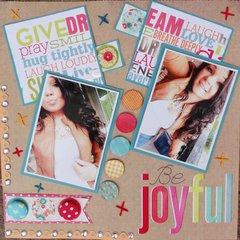 **Be Joyful**