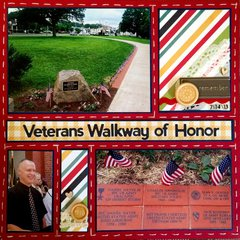 Veterans Walkway of Honor