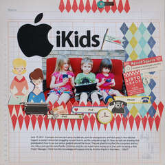 iKids *Scrapbooking From The inside Out July Kit*