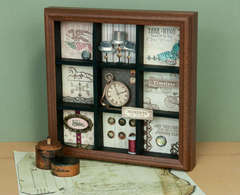 Moments in Time Shadowbox Designed By Arlene Lobach