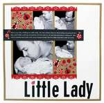 Little Lady Page Designed By Nicole Ratzlaff