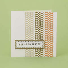 Let's Celebrate Card Designed By Martha Stewart Crafts