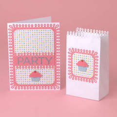 Cupcake Invite and Party Favor Designed By Martha Stewart Crafts